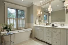 How to reduce shadows in your bathroom