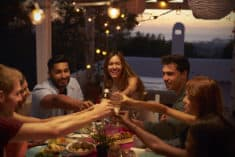 Install outdoor lighting before your next party