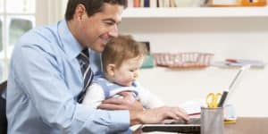 How to childproof a home office