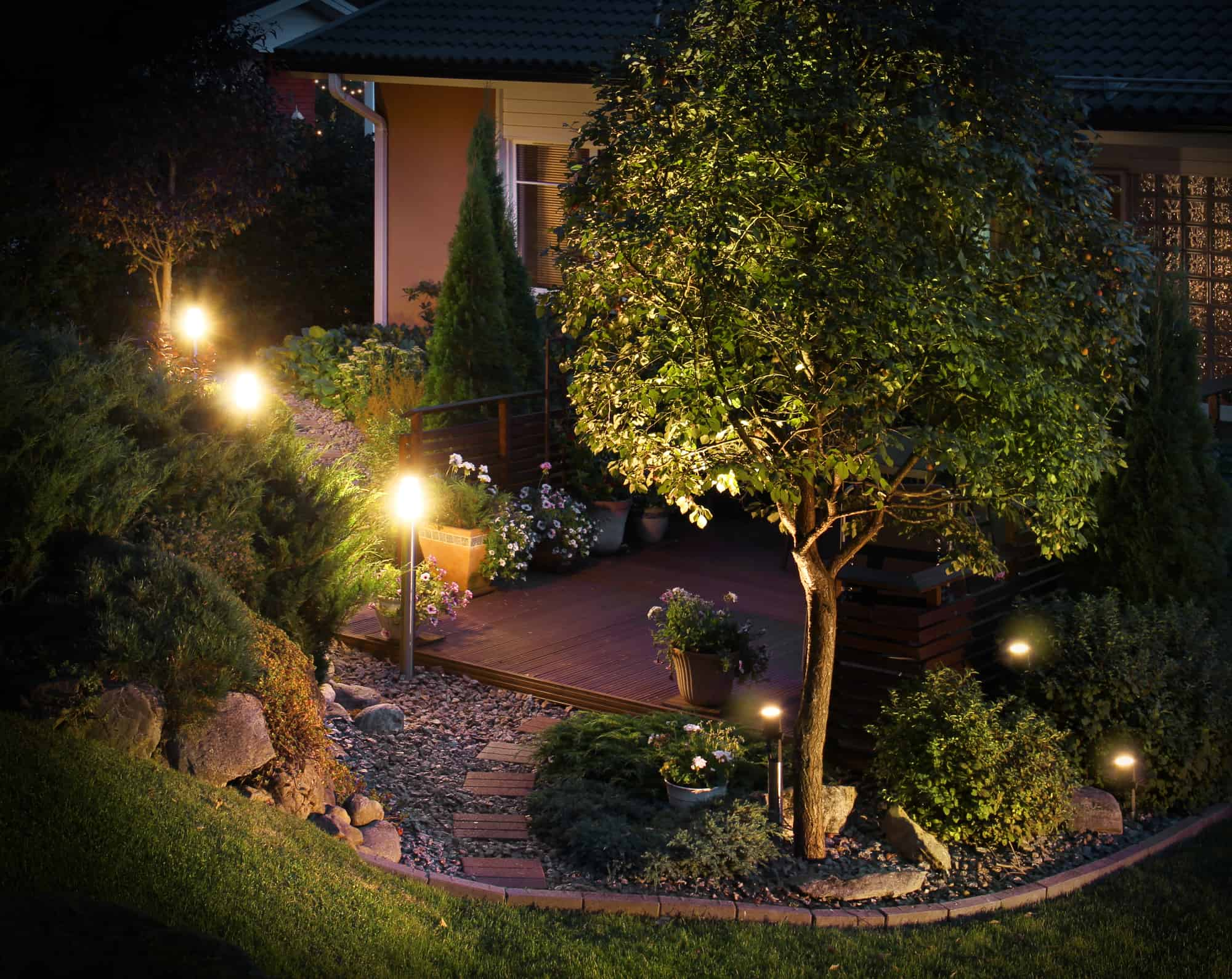 Install Outdoor Lighting In Your Phoenix Home