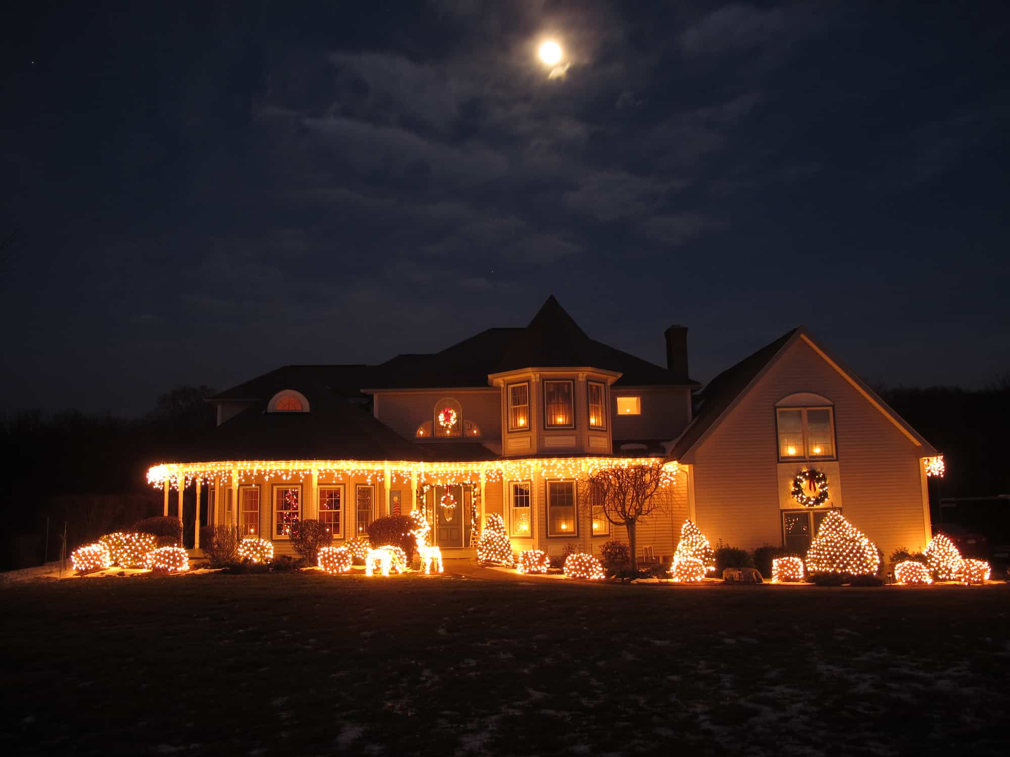 Indoor/Outdoor Ideas For Holiday Lighting In General